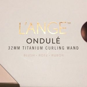 Lange ondule 32mm titanium curling wand